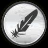 Feathercoin logo 256px